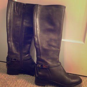 Antonio Melani Supple Leather Knee Boot